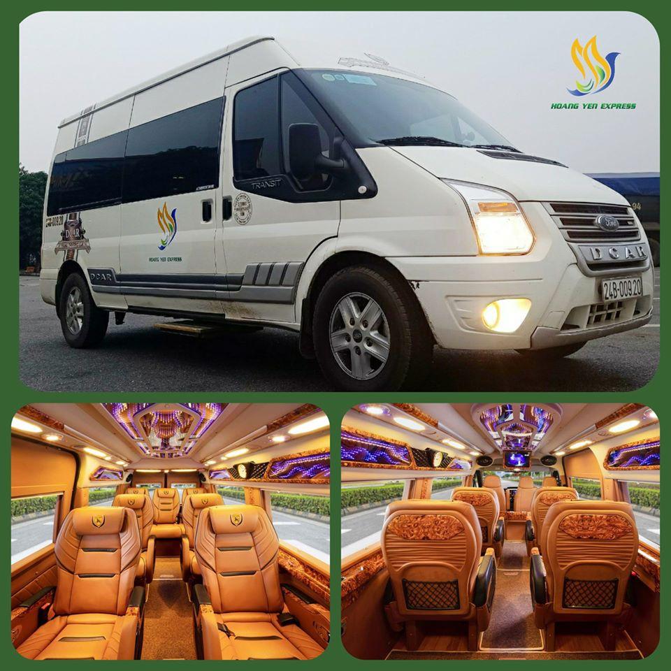 hoàng yến express Limousine