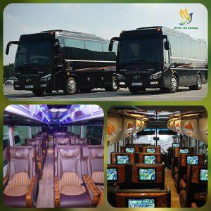 Xe Vip Limousine 18 Ghế Hoàng yến Express
