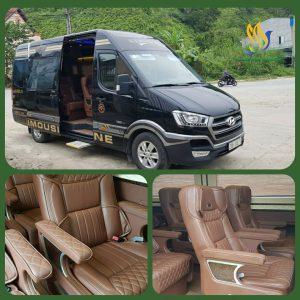 Xe Vip Limousine Solati 12 ghế