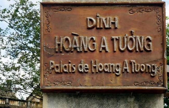 tham quan dinh thự Hoàng A Tưởng