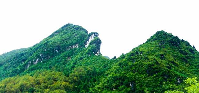 khu du lịch núi hàm rồng