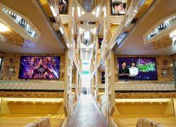 Xe Cabin đi Sapa - được trang bị những thiết bị hiện đại nhất
