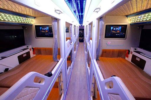 Xe Cabin đi Sapa - Xe Cabin Fansipan Express - Nội thất chuẩn 5 sao