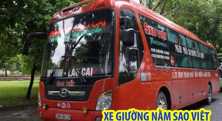 xe giường nằm đi Sapa từ Hà Nội