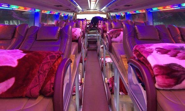 Xe giường nằm đôi đi Sapa - Hãng xe Thế Anh