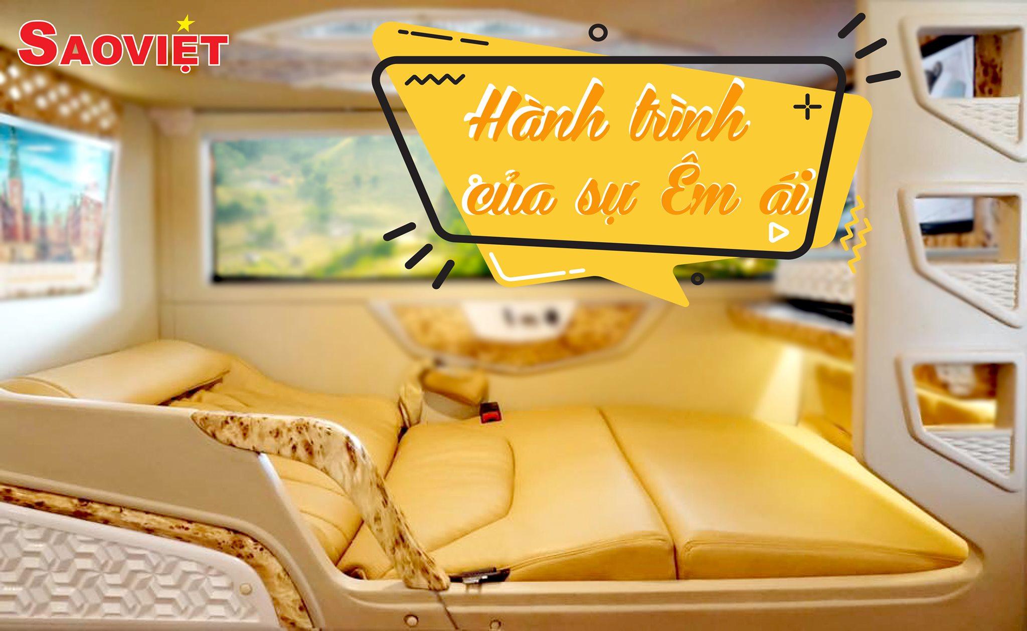 Xe giường nằm Hà Nội đi Sapa - Nội thất cabin đôi, sang trọng, đẳng cấp và tiện nghi