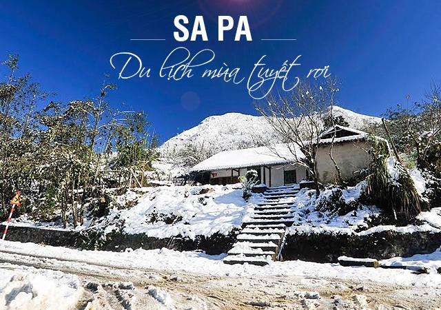 Cảnh đẹp Sapa khi có tuyết - Cơ hội hiếm hoi cho những fan checkin mùa đông tại Sapa