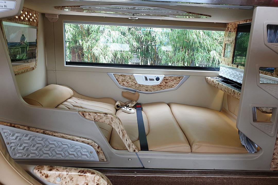 Xe đi Sapa - Xe Cabin cho bạn một không gian riêng tư và tiện nghi
