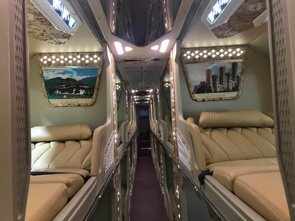Xe đi Sapa từ Mỹ Đình - Xe Cabin VIP