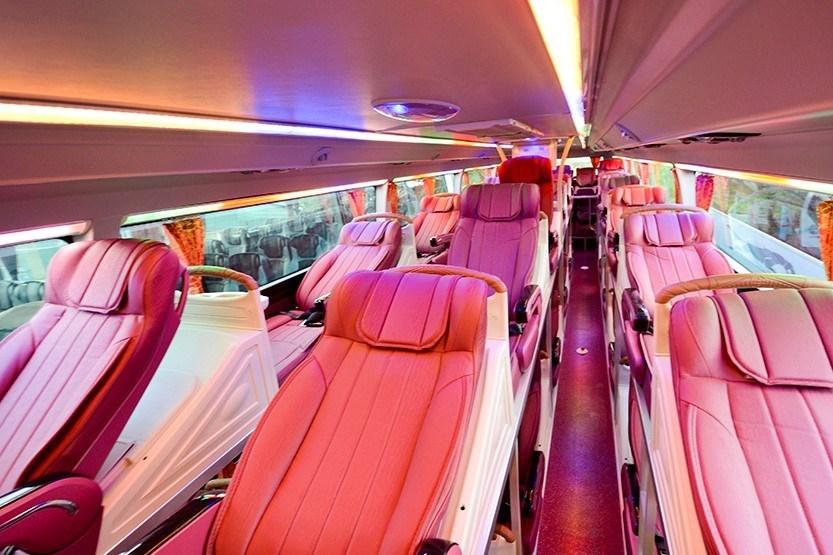 Vé xe Nội Bài đi Sapa - Xe giường nằm Interbus Line