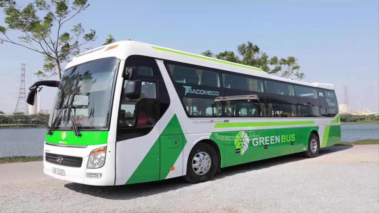 Xe giường nằm đi Sapa - Hãng xe Green Bus