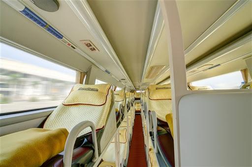 Giường nằm của xe Hà Sơn Hải Vân