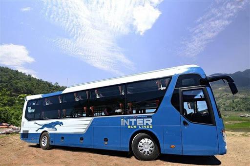 Xe giường nằm đôi đi Sapa - Hãng xe interbus Line