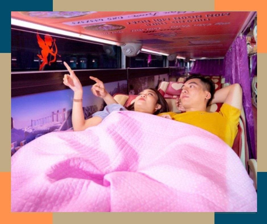 Xe giường đôi Hà nội - Nội bài - Sapa