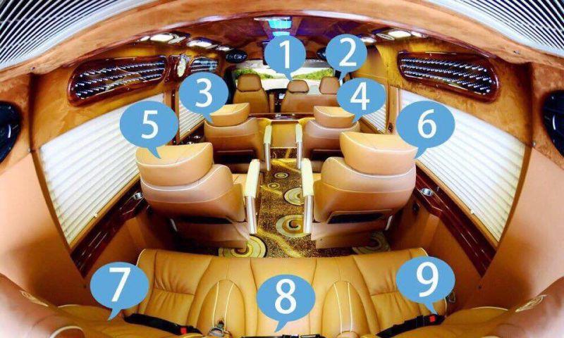 Xe đi Sapa từ Mỹ Đình - Xe Limousine 9 chỗ