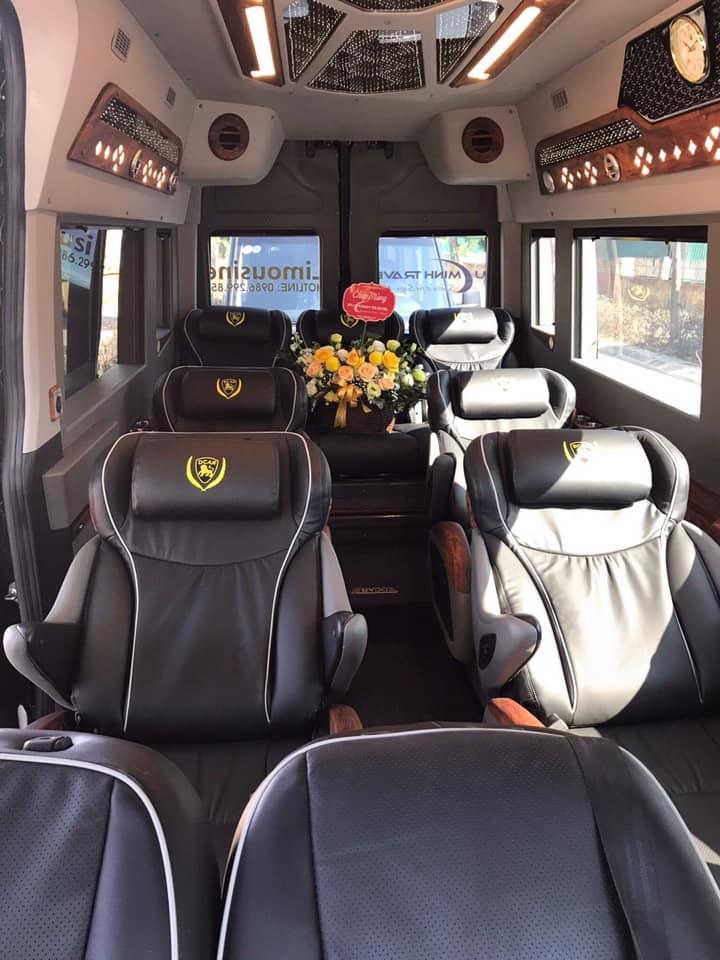 Vé đi Sapa - Xe limousine sang trọng và đẳng cấp