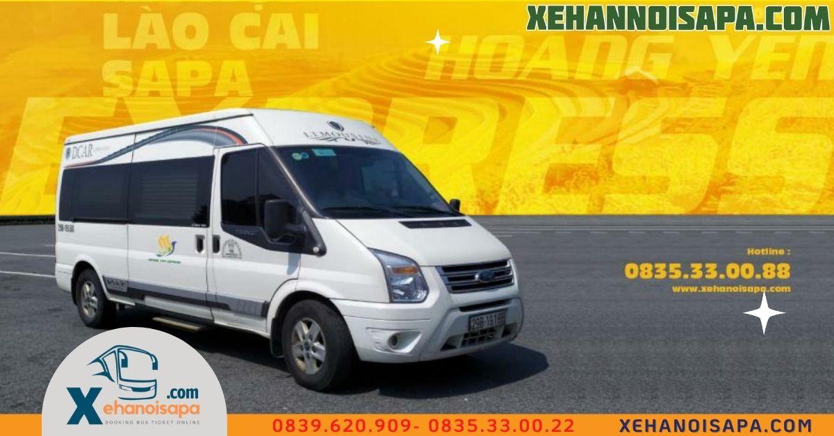 Xe đi Sapa từ Mỹ Đình - Địa chỉ đặt xe uy tín tại Xehanoisapa.com
