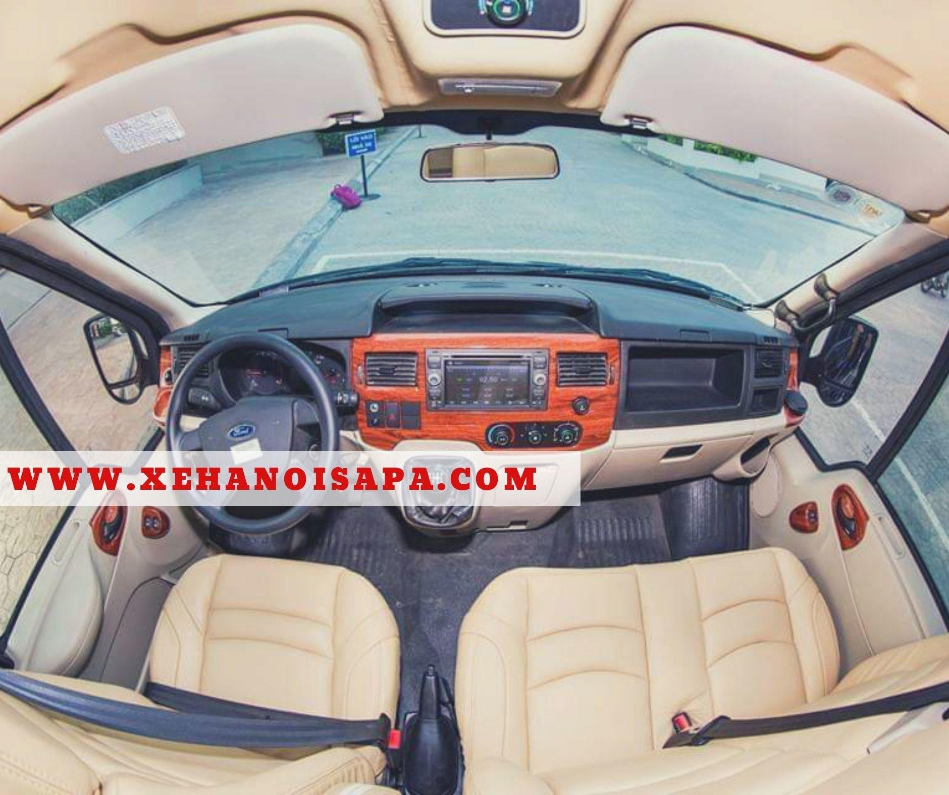 Xe Limousine Hà Nội đi Sapa - 2 ghế kế tài không ngả