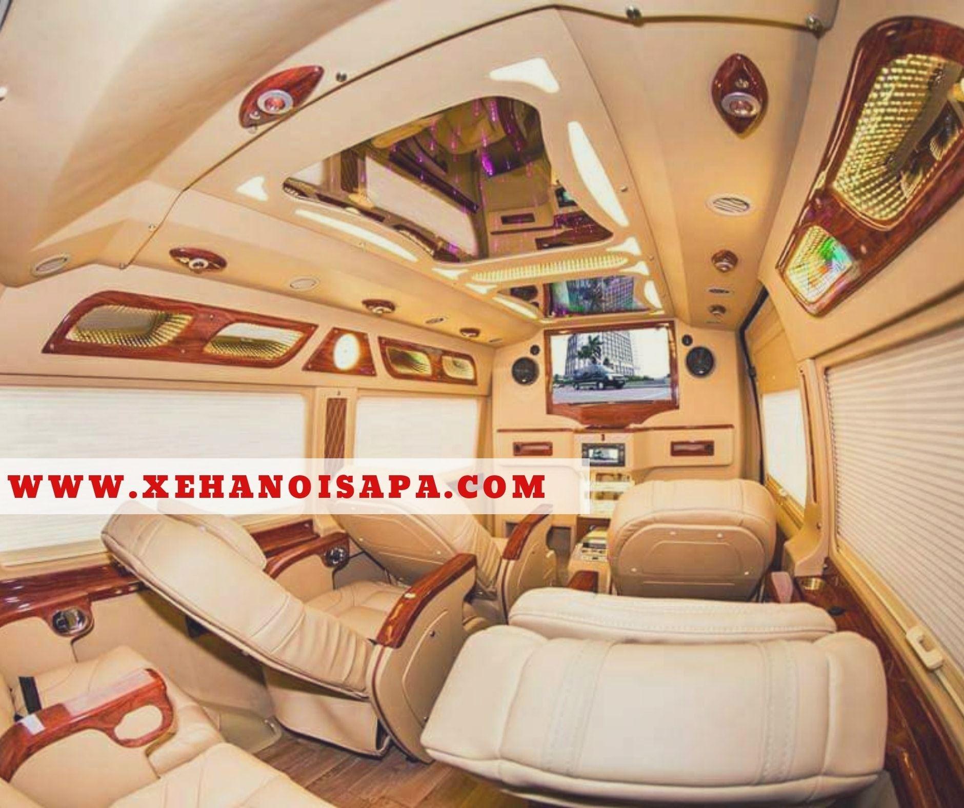 Hãng xe Én Vàng Limousine - Tiện nghi sang trọng, hiện đại