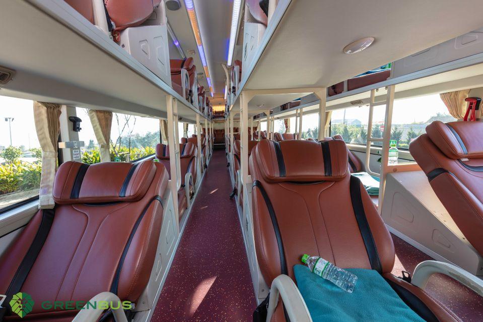 Hãng xe Green Bus cung cấp hệ thống xe giường nằm chất lượng cao