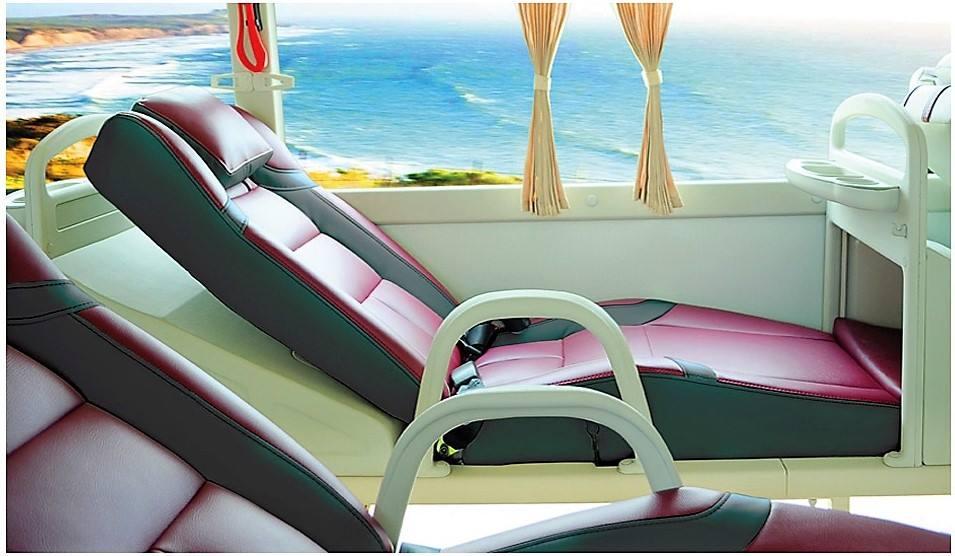 Hãng xe Sapa King Express - Xe giường nằm êm ái