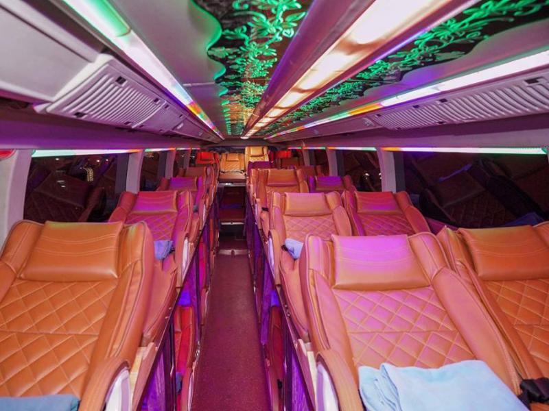Xe giường nằm Hà Nội - Sapa - Giường nằm đôi Interbus Line