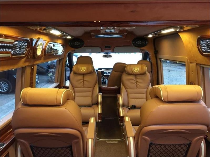 Xe Limousine Hà Nội đi Sapa - Ghế ngồi cao cấp limousine 9 chỗ