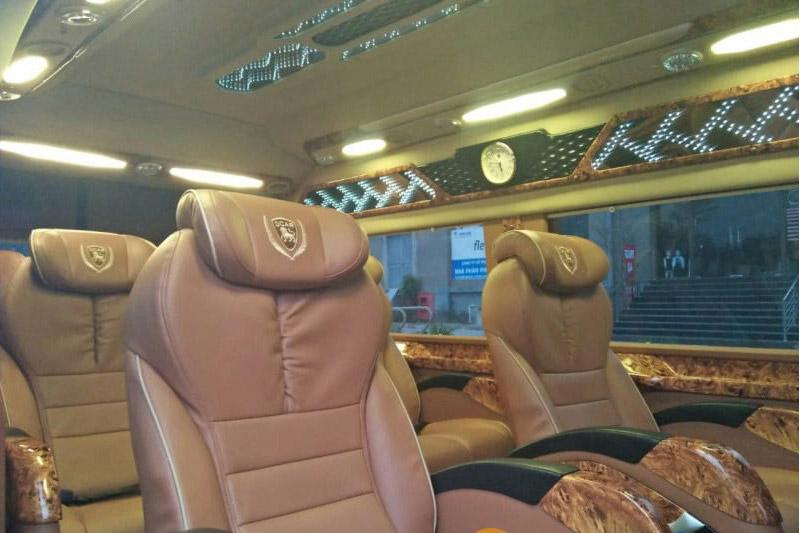 Hãng xe Dream Transport Limousine với dàn ghế ngồi cao cấp