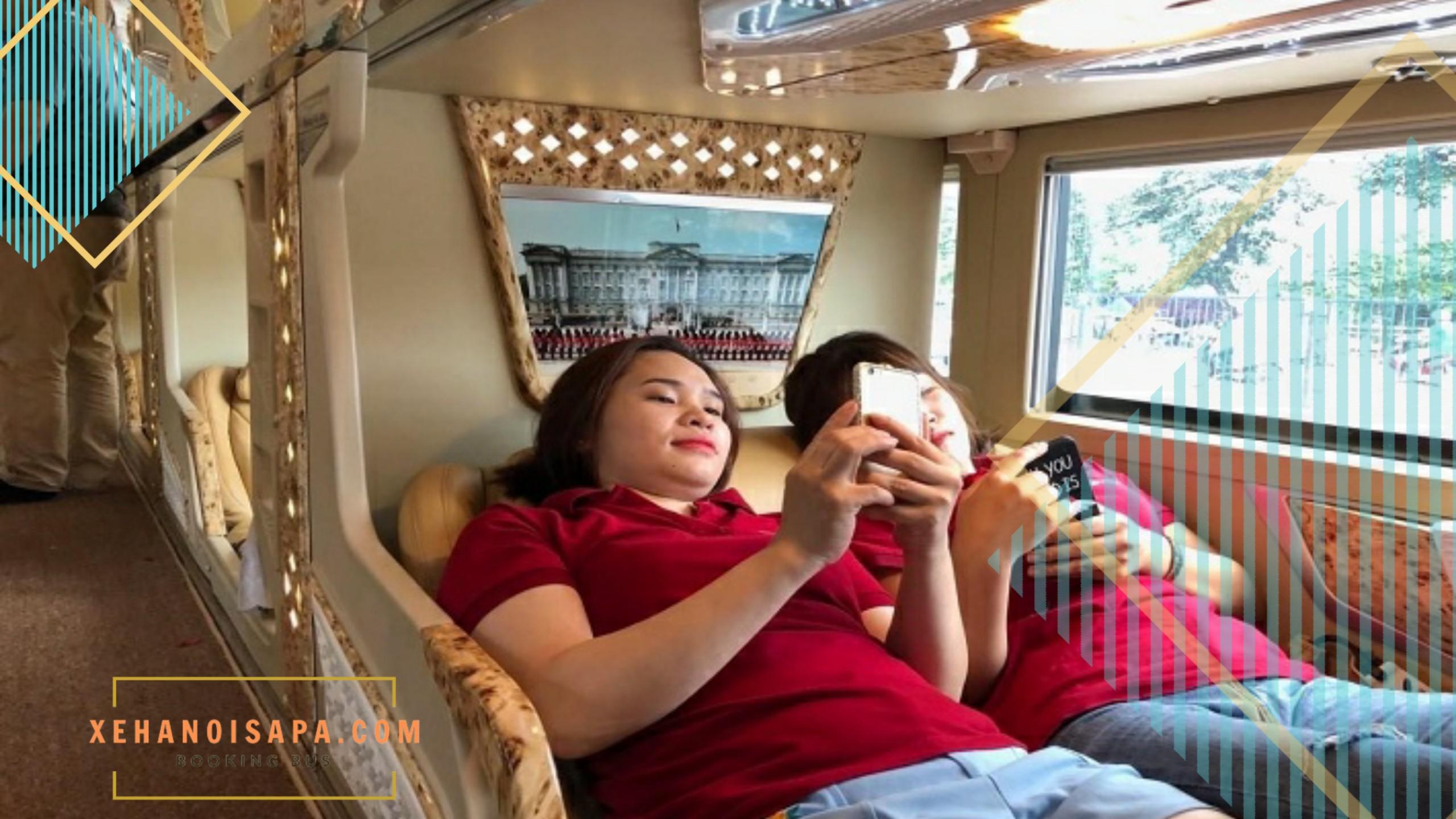 Hãng xe Sao Việt - Cabin đôi dành cho Couple