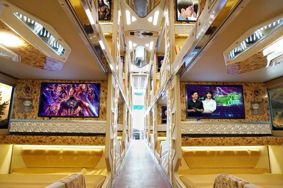 Xe Cabin VIP 21 Chỗ