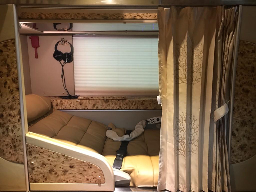 Xe Cabin VIP Hà Nội - Sapa - Hà Nội - Cabin Sao Việt riêng tư, tiện nghi