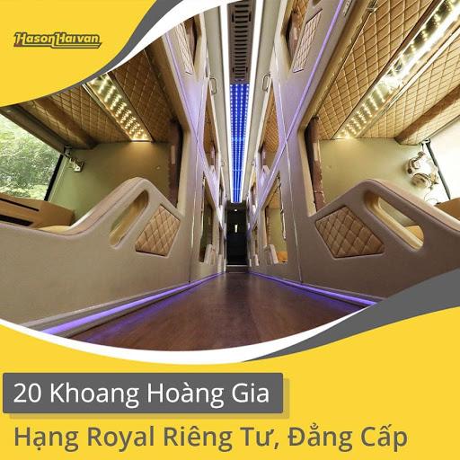 Xe Cabin VIP Hà Nội - Sapa - Hà Nội - Hà Sơn Hải Vân với những cabin sang trọng