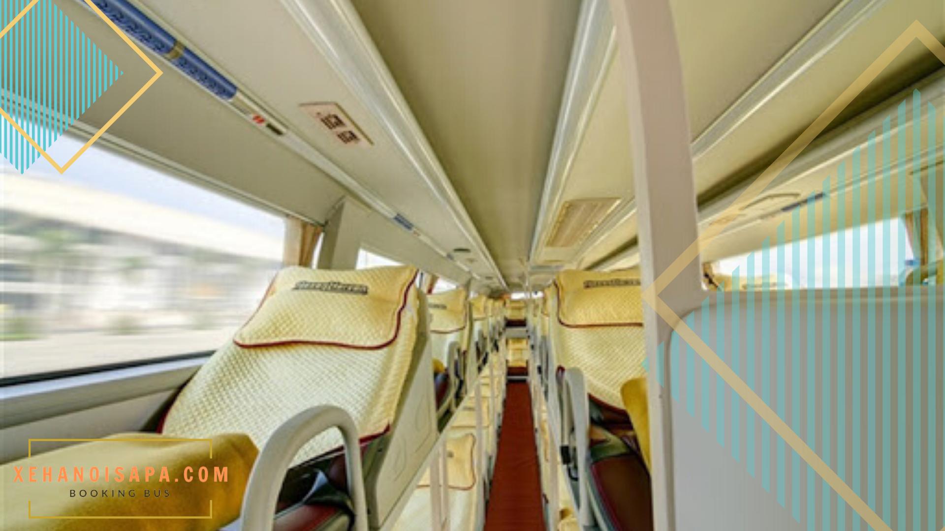 Hãng xe Hà Sơn Hải Vân - Xe giường nằm chất lượng cao