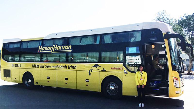 Hãng xe Hà Sơn Hải Vân -Niềm vui trên mọi hành trình