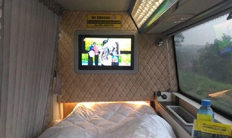 Xe Cabin VIP Hà Nội - Sapa - Hà Nội - Hà Sơn Hải Vân với những cabin sang trọng, riêng tư và tiện nghi