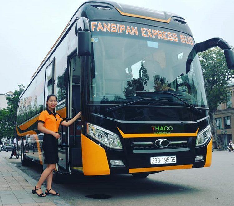Xe giường nằm Hà Nội - Sapa - Xe Fansipan Express