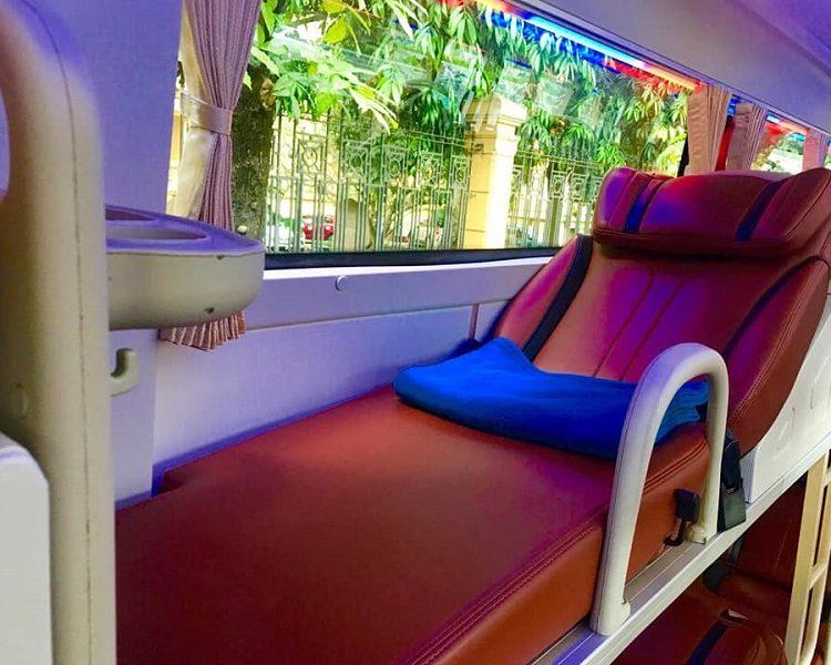 Xe giường nằm Hà Nội - Sapa - Giường nằm Xe Fansipan Express