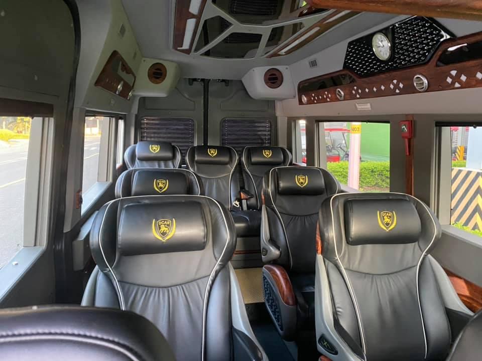 Hãng xe Đức Minh Limousine - Hệ thống ghế ngồi bọc da cao cấp