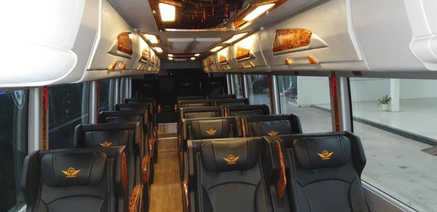 Hãng xe Pumkin Limousine - Ghế ngồi cao cấp hạng thương gia