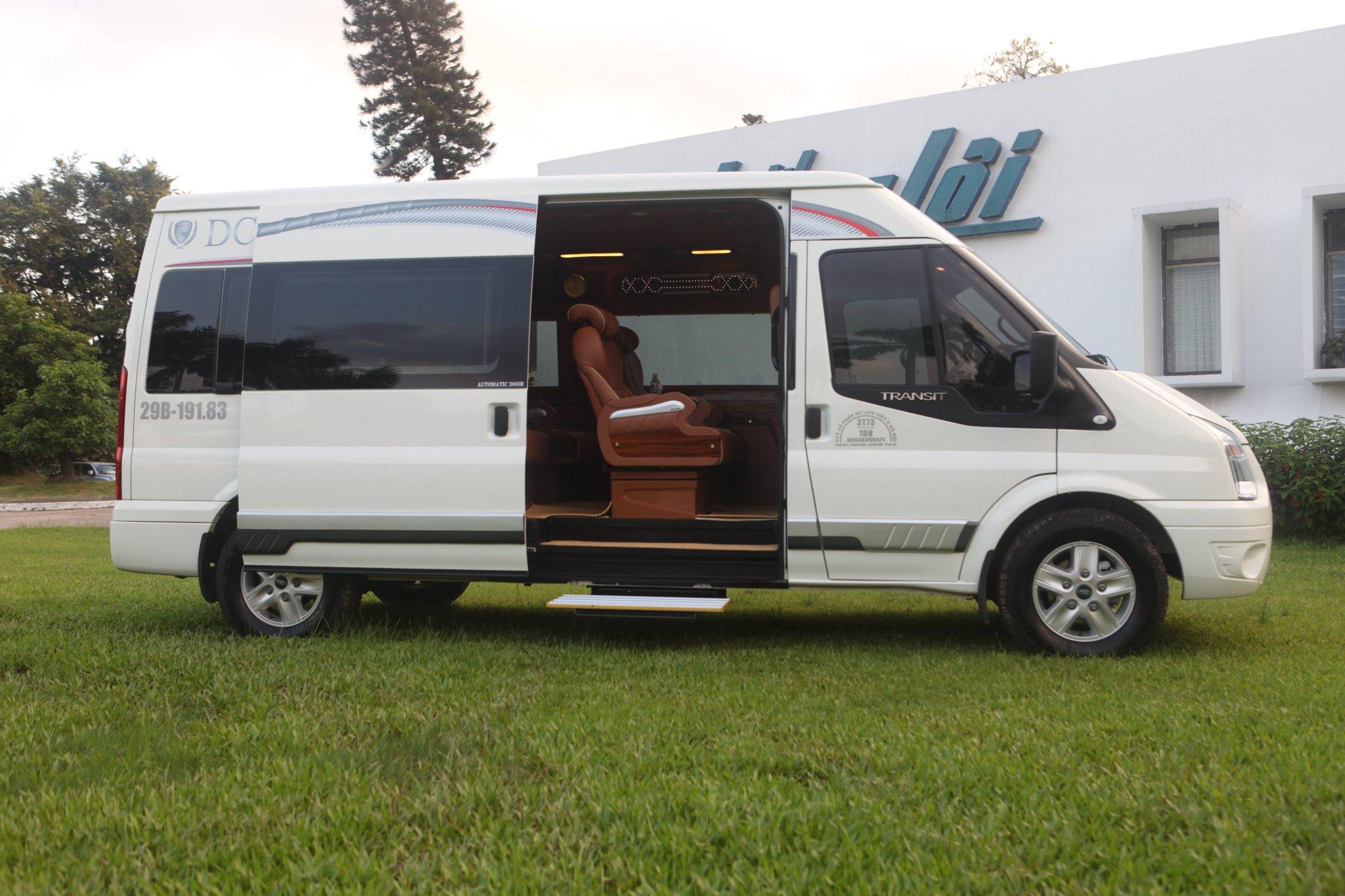 Hãng xe Pumkin Limousine - chuyên cơ mặt đất
